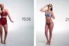 100 χρόνια γυναικεία μαγιό ζωγραφισμένα σε «γυμνά» σώματα (video)