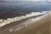 Ηλεία: Μεγάλη ρύπανση στην θαλάσσια περιοχή του Κατάκολου (pic)