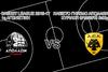 Απόλλων vs AEK στο Κλειστό Γήπεδο του Απόλλωνα