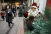 Πάτρα: Πτωτική η κίνηση στα καταστήματα την εορταστική περίοδο
