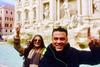 Ο Κώστας Σόμμερ και το κορίτσι του βρίσκονται στην Ιταλία (pics)