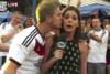 Όταν οι ρεπόρτερ δέχονται αναπάντεχες επιθέσεις με φιλιά (video)
