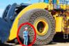 Βάζοντας αλυσίδες σε ένα γιγάντιο ελαστικό 60.000 δολαρίων (video)