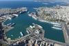 Το λιμάνι του Πειραιά, το όγδοο μεγαλύτερο της Ευρώπης