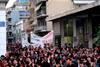 Με συμμετοχή και παλμό η αντιρατσιστική πορεία στο κέντρο της Πάτρας