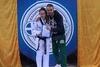 H Αιγιώτισσα Γλυκερία Παπακωνσταντίνου στο σχολικό πρωτάθλημα tae kwon do