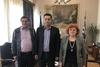 Συνάντηση της Δημοτικής Αρχής της Πάτρας με τους Δημάρχους Αγρινίου και Μεσολογγίου (pics)
