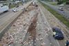 «Έβρεξε» χιλιάδες πίτσες σε αυτοκινητόδρομο στο Αρκάνσας!
