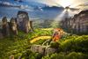 Το «πέτρινο δάσος» των Μετεώρων που κόβει την ανάσα (φωτο)