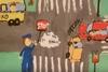 Προβολή τηλεοπτικού και ραδιοφωνικού κοινωνικού μηνύματος για την οδική ασφάλεια (video)