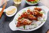 Φτιάξτε κοτόπουλο τεριγιάκι με ρύζι