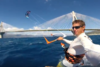 Κάνοντας Kite Surf με φόντο την γέφυρα Ρίου - Αντιρρίου (video)