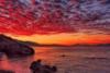Μικρές πινελιές ηλιοβασιλέματος... στην όμορφη Ακράτα!