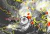 Ο μεσογειακός κυκλώνας έφερε έως και 10 μποφόρ στην Πάτρα (pic)