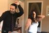 Συριοπούλου και Μαρίνος χορεύουν ξέφρενα στα παρασκήνια των γυρισμάτων της σειράς (video)