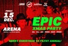 The Epic Xmas Party at Arena