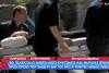 Κατέρρευσε η σύζυγος του Γιώργου Μπαλταδώρου στην κηδεία του! (video)