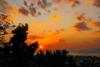 Όταν το απόβραδο 'ματώνει' τον ουρανό της Πάτρας (pics)