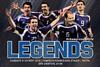 Legends 2004 vs Spain National Team Legends στο Παμπελοποννησιακό Στάδιο