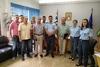 Το Δ.Σ. του Σωματείου Ιδιοκτητών Ταξί Πατρών και Περιχώρων στη Διεύθυνση Αστυνομίας Αχαΐας