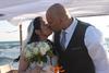 Ζευγάρι από τον Καναδά παντρεύτηκε δίπλα στη θάλασσα της Καλόγριας (pics)