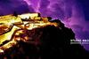 Κεραυνοί με φόντο το Παλαμήδι (φωτο)