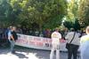 Πάτρα: Παράσταση διαμαρτυρίας από τους συμβασιούχους της καθαριότητας