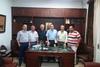 Πάτρα: Ο Παναγιώτης Λαφαζάνης επισκέφθηκε τα γραφεία του Εμπορικού Συλλόγου