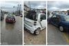 Τροχαίο ατύχημα στην νέα εθνική οδό Πατρών - Αθηνών (φωτο)