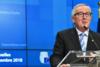 Γιούνκερ: Δυσφορία για την απόρριψη των προτάσεων για το Μεταναστευτικό