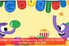 Το τελευταίο doodle της Google για το 2018