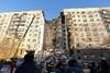 Ρωσία - Περισσότεροι από 400 οι άστεγοι από την έκρηξη και κατάρρευση της πολυκατοικίας