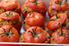 Ντομάτες γεμιστές με πλιγούρι και φέτα