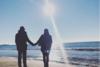 Χειμωνιάτικες στιγμές στην ήρεμη παραλία της Καλόγριας (pics)