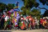 Πάτρα - Με ορθοπεταλιές οι μικροί καρναβαλιστές στα Υψηλά Αλώνια (φωτο)