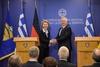 Επίσκεψη της Υπουργού Άμυνας της Γερμανίας στο ΥΠΕΘΑ (φωτο)