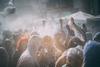 Χάος και απόλυτη αναρχία σε μία πολύχρωμη 'μάχη' στο Γαλαξίδι (pics)