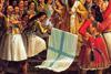 Ωδές από τον Ύμνο εις την Ελευθερία του Διονυσίου Σολωμού στην πρώην Μαθητική Εστία Καλαβρύτων