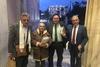 Ο Δήμαρχος Καλαβρύτων στη Βουλή - Παρακολούθησε τη συζήτηση για τις Γερμανικές Οφειλές