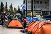 Σύνταγμα: Στις σκηνές διανυκτέρευσαν οι πρόσφυγες