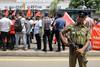 Υπό δρακόντεια μέτρα τίμησαν την Εργατική Πρωτομαγιά στη Σρι Λάνκα
