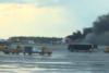 Μόσχα - Αεροπλάνο τυλίχθηκε στις φλόγες