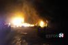 Έβρος - Κάηκε ολοσχερώς κατάστημα επίπλων (φωτο)
