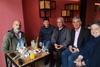 Πάτρα: Tα είπε με δημοσιογράφους ο Χαράλαμπος Μπονάνος (φωτο)
