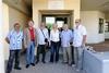 Η Σία Αναγνωστοπούλου στα γραφεία των Μεσογειακών Αγώνων