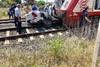 Διαβατά - Μία έγκυος νεκρή μετά από σύγκρουση τρένου με ΙΧ (φωτο)