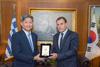 Συνάντηση Νικόλαου Παναγιωτόπουλου με τον Πρέσβη της Νότιας Κορέας Lim Soo-Suk