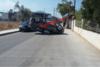 Κόρινθος: Αυτοκίνητο αναποδογύρισε στη μέση του δρόμου