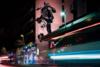 Ο Βέγγος 'τρέχει' στους δρόμους της Πάτρας (φωτο)