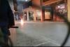 Επεισόδια στο κέντρο της Πάτρας με μολότοφ, χημικά και φωτιές στους κάδους